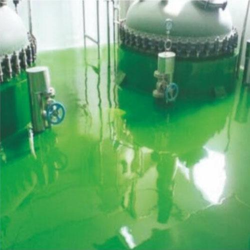 耐腐蚀环玻璃地坪涂装系统